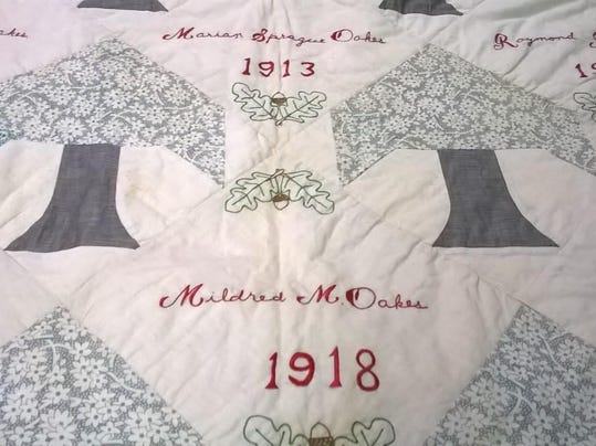 Heritage Quilt With Salem Connection Shows Up In Arizona