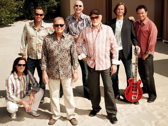 The Legendary Singing Group Beach Boys Perform