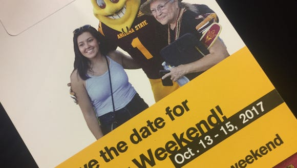 At new student orientation at ASU, Karina Bland received