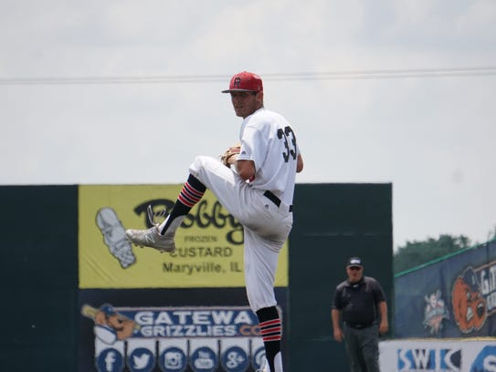 Rhodes closer Nick Bosma made national headlines after vomiting behind the mound and finishing off a save last week.