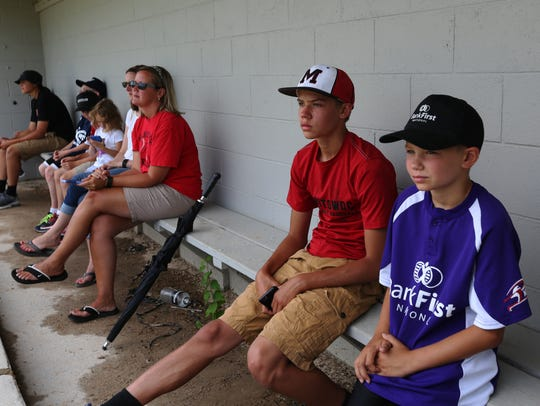 Manitowoc Youth Baseball Association members from three