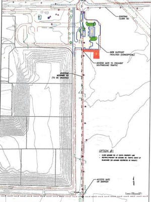 The County Commission will hold a road viewing Aug. 18 and public hearing Aug. 25 on whethe to close the half mile of Mohawk Road south of the county landfill.
