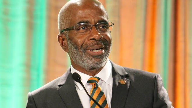 FAMU President Larry Larry Robinson, who was named president of Florida A&M Uiversity on Nov. 30, 2017 by the Board of Trustees.