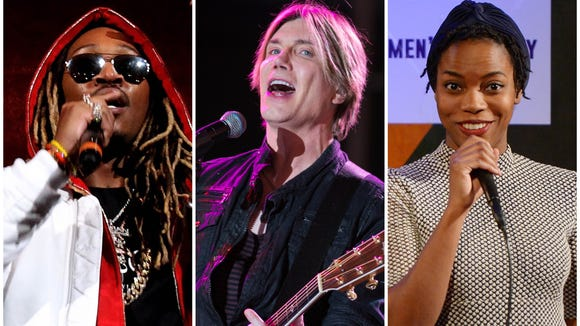 Among recently the announced shows coming to Delaware: Rapper Future is playing the Bob Carpenter Center, Goo Goo Dolls' John Rzeznik is headlining the Wilmington Flower Market and SNL's Sasheer Zamata is headed to the Milton Theatre.