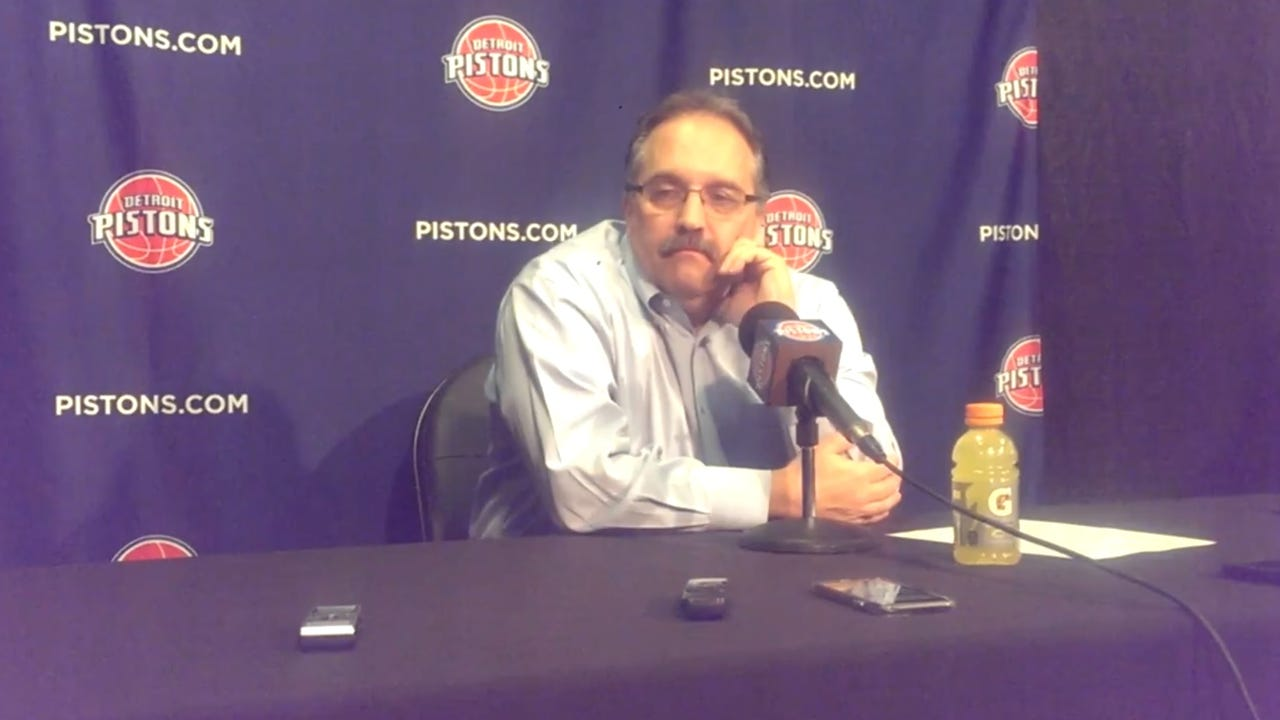 Pistons coach discusses 97-96 defeat to the Heat, which puts the his team 2½ games behind Miami for the final playoff spot in the Eastern Conference.