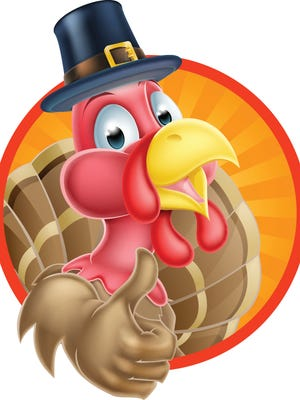 Cartoon Thanksgiving Turkey
