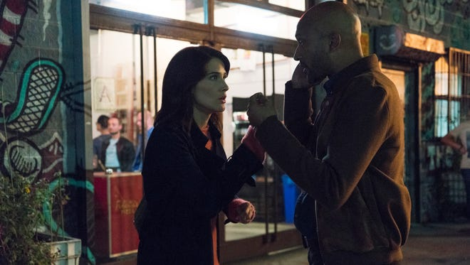 "Cobie Smulders and Keegan-Michael Key co-star in the Netflix series ""Friends From College."""