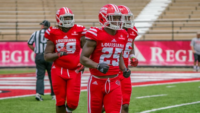 UL safety Deuce Wallace (25) has been named to the Wuerffel Trophy national watch list.