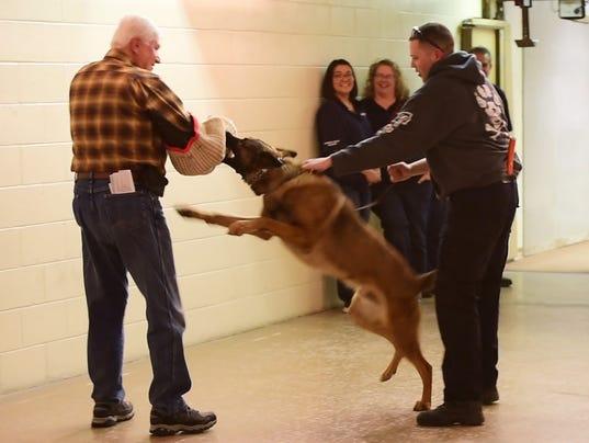 1 police dog