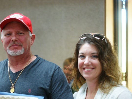At a Deming City Council meeting last October,  Bob Yacone and spouse Kim Duncan were honored for their National Buffalo Chicken Wings Festival victory. Mr. Yacone used the occasion to announce he had purchased a Las Cruces property for a second location.