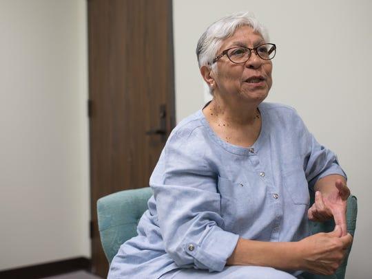 Nueces County Victim Assistance Coordinator Rosa Maria