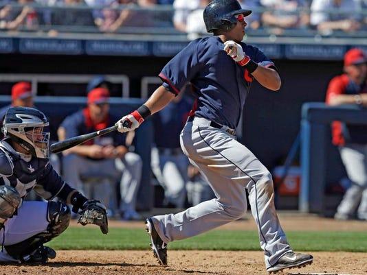 Indians Padres Spring Baseball