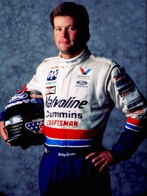 1996 file photo of Robby Gordon
