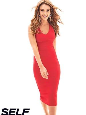 "Jessica Alba poses for ""Self"" magazine."