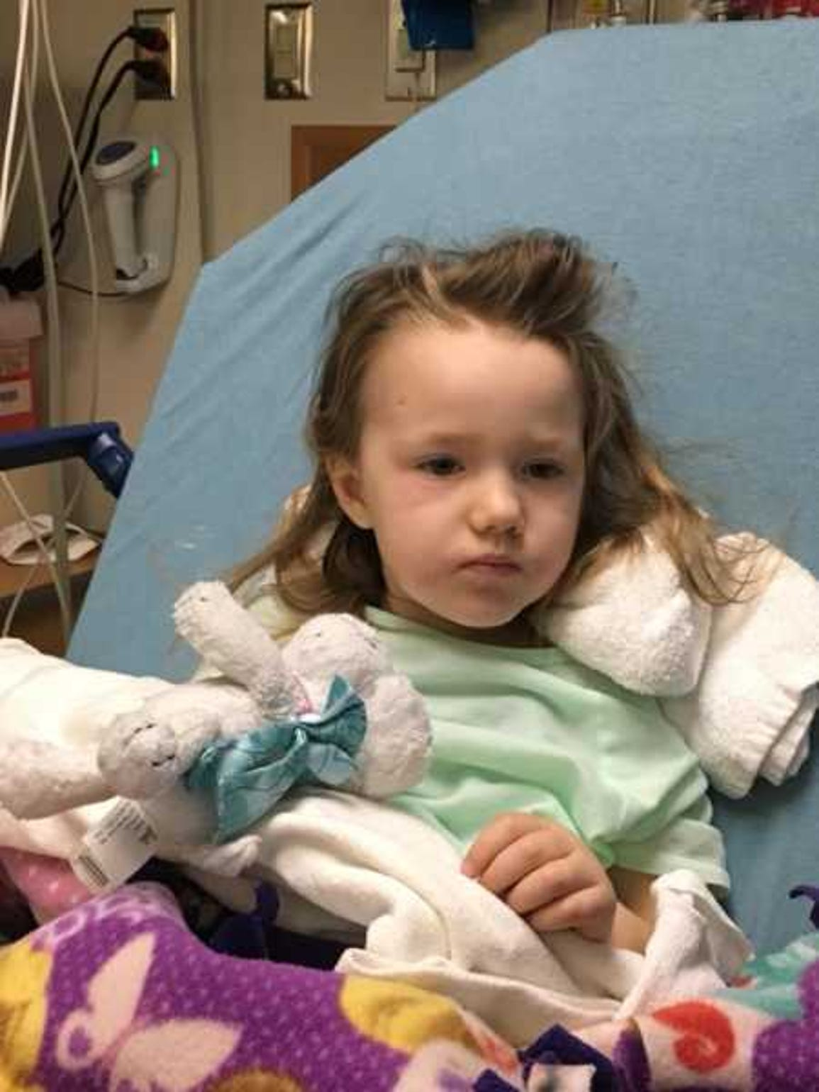 Addy has stopped responding to treatment for her deadly