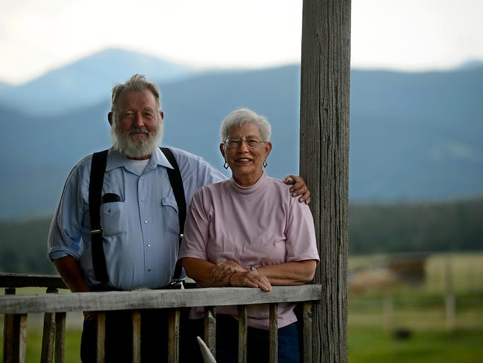 John and Sylvia Drivdahl still ranch on the original homestead started by Sylvia's grandfather in Belt Park in the Little Belts.