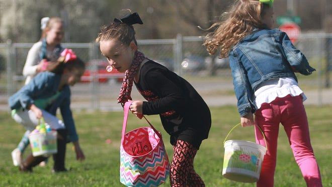 Get a basket ready for Easter egg hunt season in Sumner County.