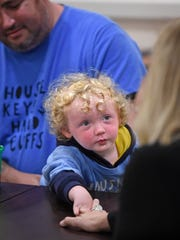 A group of homeless individuals and members of homeless advocate groups including Jesse Delagarza, 2, whose parents are homeless, reached out to Mayor Megan Barry on Friday concerning homeless issues in Nashville.