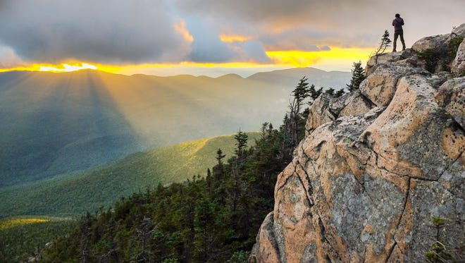 New Hampshire's White Mountains National Forest is another iconic spot along the A.T.