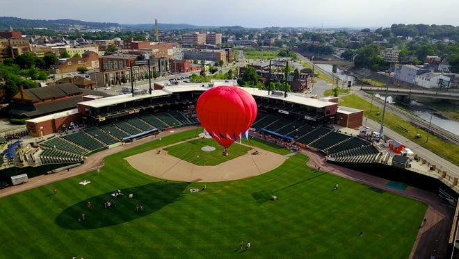 PeoplesBank Park in York will play host to the NCAA Division III Mid-Atlantic Baseball Regional from Thursday through Monday, weather permitting. YORK DISPATCH FILE PHOTO