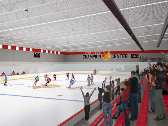 The Fox Cities Champion Center in Grand Chute will