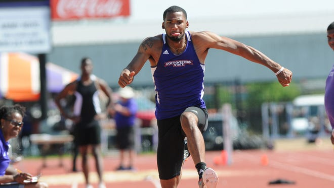 NSU's Emmanuel Williams is ninth nationally in the triple jump.