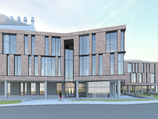 Rendering of FSU's new Interdisciplinary Research and