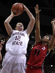 Hillary Chvatal is averaging more than 10 rebounds