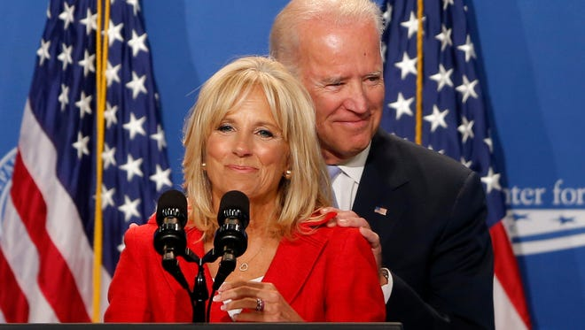 Vice President Joe Biden's reluctance to enter the presidential race centers on his family. His wife, Jill, has never relished political life and is said to share his misgivings about whether the Bidens are emotionally equipped for another campaign.