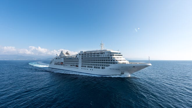 Scheduled to be christened on April 19, the 596-passenger Silver Muse is luxury line Silversea Cruises' first newly built ship in seven years.
