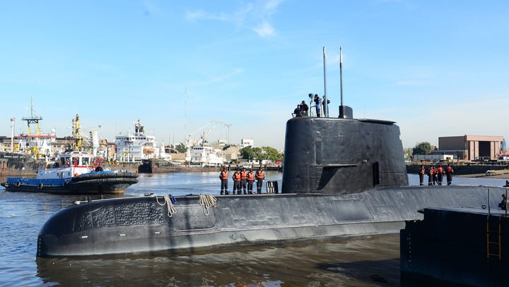 Missing Argentine submarine may have attempted contact 7 times