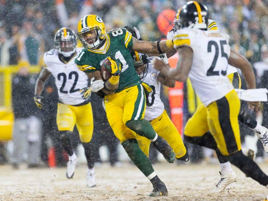 USP NFL: PITTSBURGH STEELERS AT GREEN BAY PACKERS S FBN USA WI