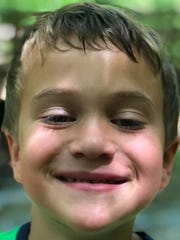 Marcus Thornhill, 5, is the son of Josh Thornhill,