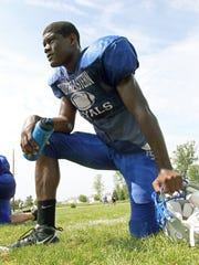 Former Hamilton Southeastern standout Randy Gregory, shown here in a 2010 file photo.
