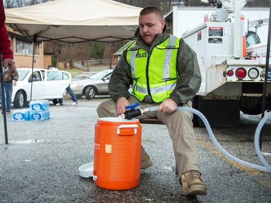 AP WV Chemical Spill