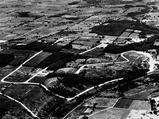#3 310-89-7 Road America Aerial 8-1955