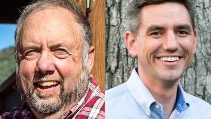 Rep. John Ager, left, and Rep. Brian Turner