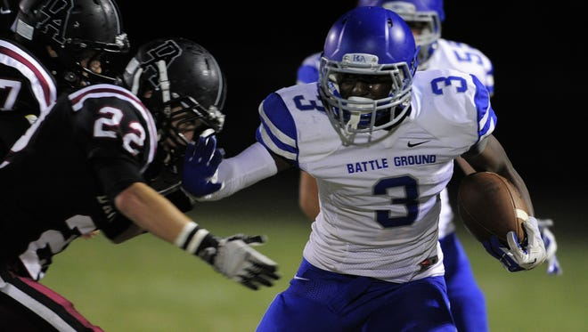 BGA's Ronald Cleveland committed to play football at Air Force on Friday.