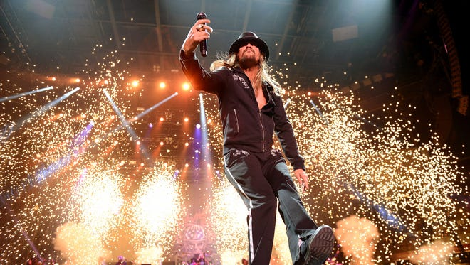 Kid Rock performs during Tiger Jam 2013 at the Mandalay Bay Events Center on May 18, 2013, in Las Vegas.