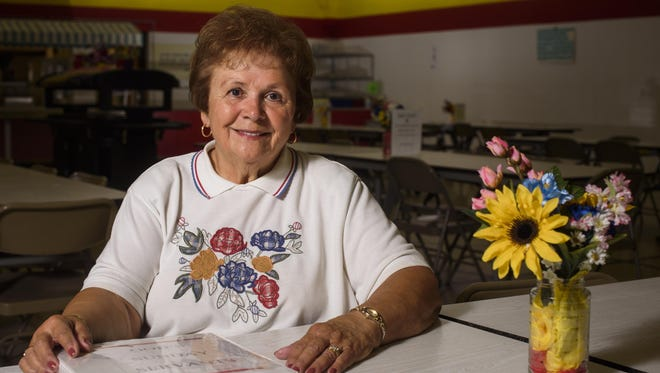 Bernadine Prosek has worked with God's Sunday Servants program at the Salvation Army in Appleton for two decades.