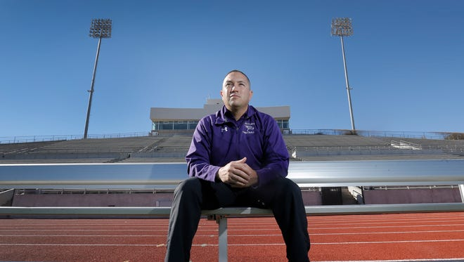 The El Paso Times' Coach of the Year for the 2015 season is Eastlake's J.J. Calderon.