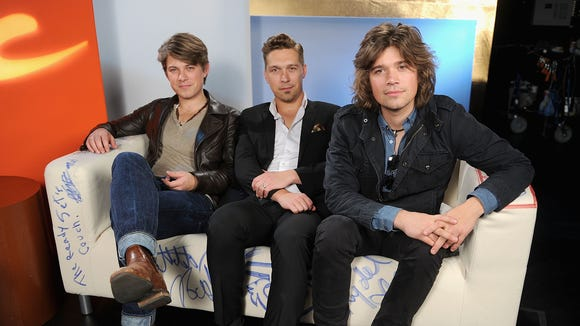 Hanson in 2013, still setting our hearts a-fluttering.