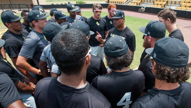 Alabama State University head baseball coach Mervyl Melendez and the Hornets face Florida State in the Tallahassee Regional on Friday