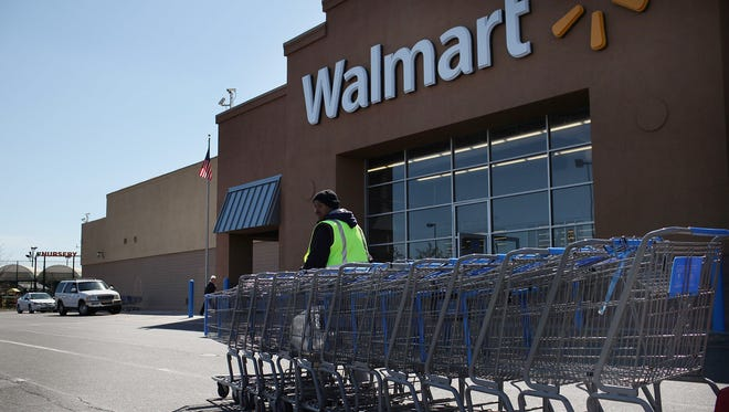 Police found a meth lab on the property of a Walmart in Amherst, N.Y. this week.