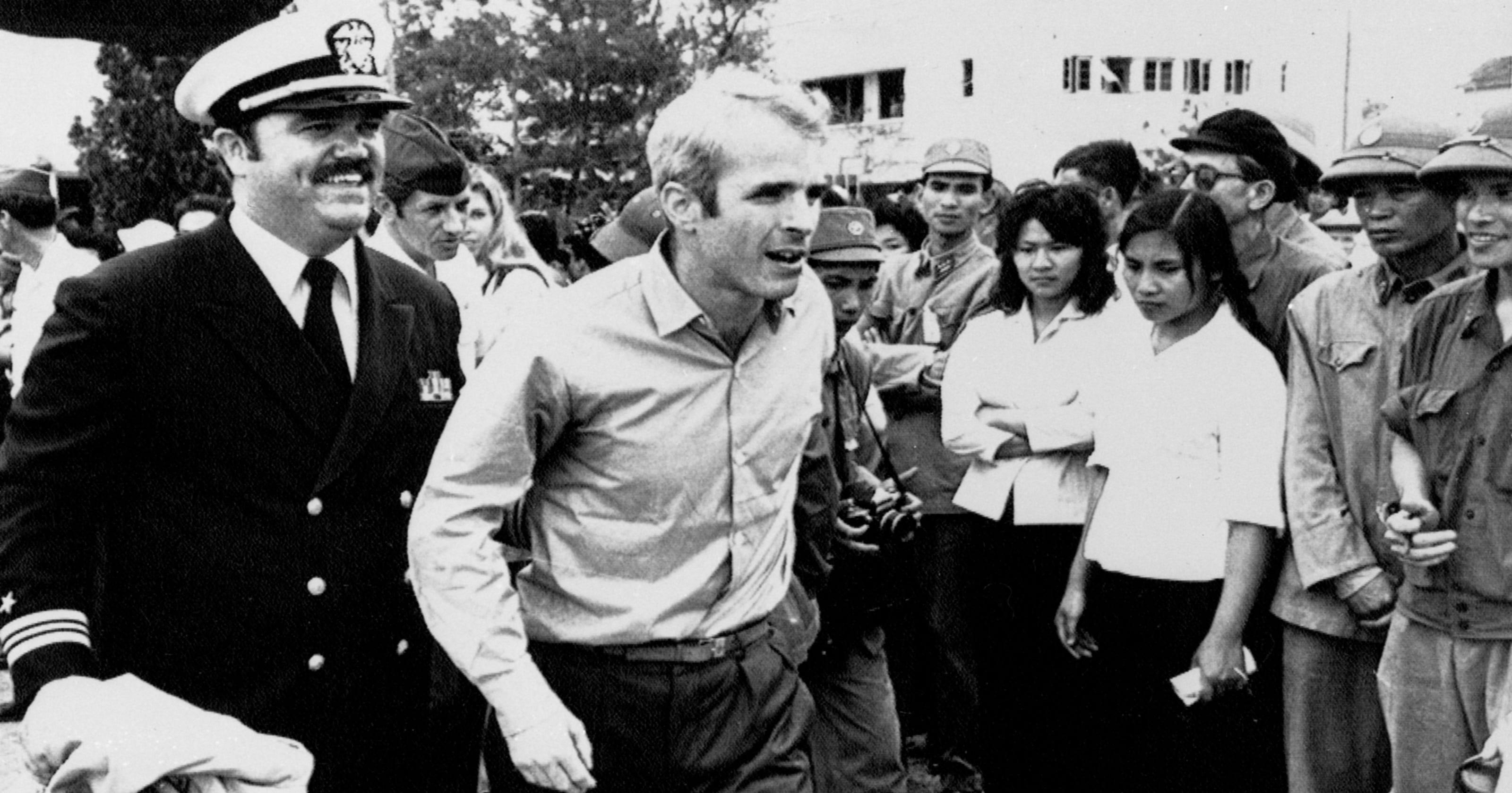 John McCain war hero: Vietnam vet joins Navy's Senate liaison office