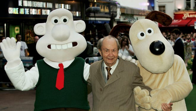 Actor Peter Sallis arrives at the UK Charity premiere of animated film Wallace & Gromit: The Curse Of The Were-Rabbit at the Odeon West End in 2005.