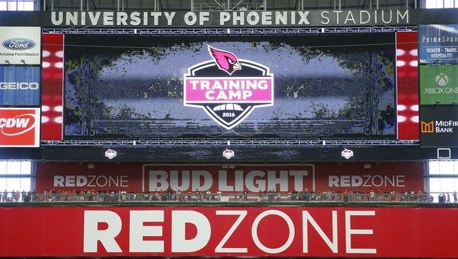 Arizona Cardinals training camp Tuesday, Aug. 2, 2016 in  Glendale,  Ariz.