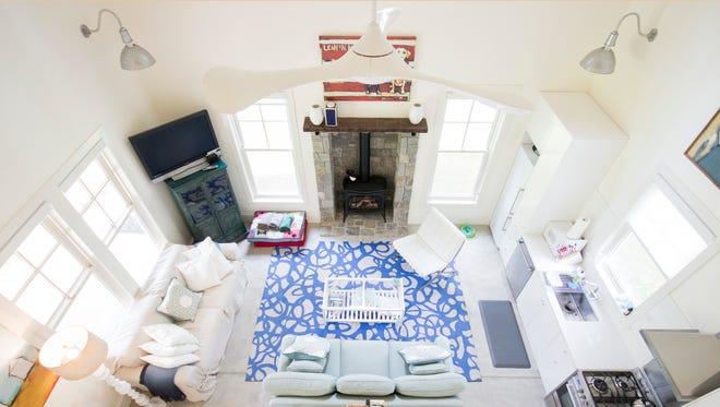 Caroline Brooks turned her Bainbridge Island guest house into an Airbnb rental.
