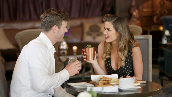 JoJo Fletcher, right, was The Bachelorette during the 2016 season of the ABC reality show. A former producer who worked on that season has filed suit, alleging sexual harassment and wrongful termination, according to The Los Angeles Times.