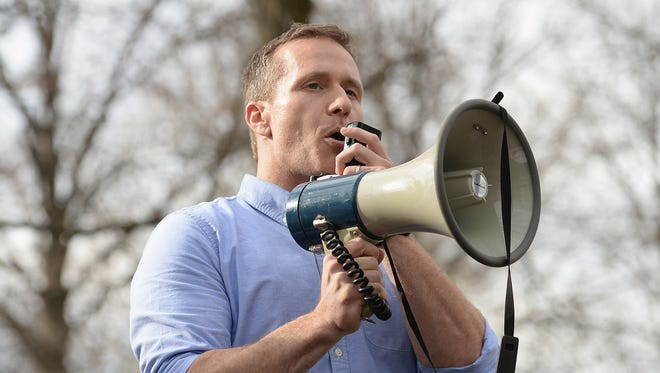 A St. Louis grand jury has indicted Missouri Gov. Eric Greitens on a felony invasion of privacy charge related to the Republican's affair with a woman in 2015.